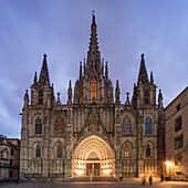 Church, Cathedral, Catalonia, Spain, Architecture