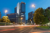 Office complex at Spittelmarkt. Berlin. Germany