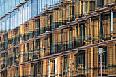 Modern Architecture, Dorotheen Street 97, Reflection , Berlin Mitte, Germany