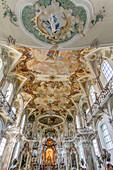 Pilgrimage church Birnau, Unteruhldingen, Baden Wurttemberg, Germany