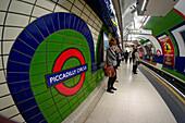 Subway Station, Piccadilly Circus, London, UK