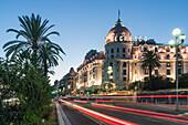 Hotel Negresco, Promenade des Anglais, Nice, Cote d' Azur, France