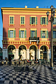Place Massena, Street Cafes, Nice, Alpes Maritimes, Provence, French Riviera, Mediterranean, France, Europe