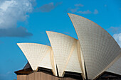 Sydney Opera House sails, UNESCO World Heritage Site, Sydney, New South Wales, Australia, Pacific