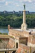 Victor Column, Kalemegdan Fortress, Belgrade, Serbia, Europe