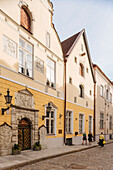House of the Brotherhood of Black Heads, Old Town, UNESCO World Heritage Site, Tallinn, Estonia, Europe