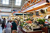 Interior of Riga Central Market, Riga, Latvia, Baltic States, Europe