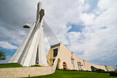 St. Paul's Cathedral, Abidjan, Ivory Coast, West Africa, Africa