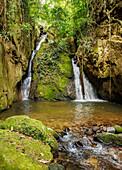 Cachoeira Indiana Jones, waterfall in Boa Esperanca de Cima, Nova Friburgo Municipality, State of Rio de Janeiro, Brazil, South America