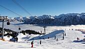 Skiarea Fellhorn, Oberstdorf, Allgau, Bavaria, Germany
