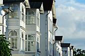 Baederarchitektur, Binz, Rügen, Ostseeküste, Mecklenburg-Western Pomerania, Germany