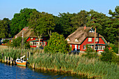 Prerow, at the harbor Boddenseite, Ostseeküste, Mecklenburg-Western Pomerania Germany