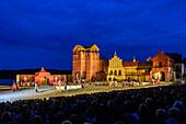 Stoertebeker Festival in Ralswiek, Rügen, Baltic Sea Coast, Mecklenburg-Vorpommern, Germany