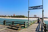 Pier of Rerik, Ostseeküste, Mecklenburg-Western Pomerania, Germany