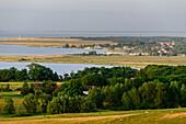 View from Dornbusch, Hiddensee, Rügen, Ostseeküste, Mecklenburg-Western Pomerania, Germany