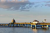 Sea bridge of Sellin, Rügen, Ostseeküste, Mecklenburg-Western Pomerania, Germany