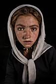 Afghan girl portrait, Wakhan, Afghanistan, Asia
