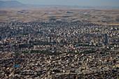 View over Tabriz, Iran, Asia