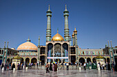 Fatima Masuma shrine in Qom, Iran, Asia