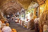Whool in the bazaar of Tabriz, Iran, Asia
