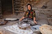 Kurdish woman in Palangan, Kurdistan, Iran, Asia