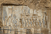 Achaemenid inscription of Behistun, Iran, Asia