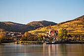 Spitz along the Danube at Wachau, Lower Austria, Europe