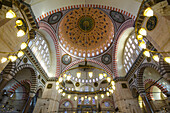 Süleymaniye mosque in Istanbul, Turkey