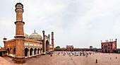 Fridaymosque in Delhi, Jama Masjid, India, Asia