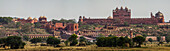 View on Fatehpur Sikri, Uttar Pradesh, India, Asia