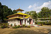 Buddhist monastery in Itanagar, Arunachal, India, Asia
