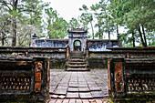 Tu Duc tomb in Hue, Vietnam, Asia