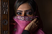 Young woman in United Arab Emirates, Asia