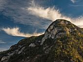Herbststimmung in den Berchtesgadener Alpen, Ramsau, Oberbayern, Deutschland