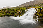 Dynjandi (Fjallfoss), a series of waterfalls located in the Westfjords (Vestfirdir), Iceland, Polar Regions