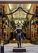 Beau Brummell Monument and Piccadilly Arcade, London, England, United Kingdom, Europe