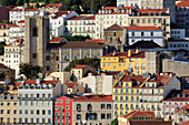 Se Cathedral, Alfama District, Lisbon, Portugal, Europe