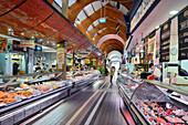 Market stalls, The English Market, Cork, County Cork, Munster, Republic of Ireland, Europe