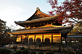 Nanzenji Temple, the head temple within the Rinzai sect of Japanese Zen Buddhism, Kyoto, Japan, Asia