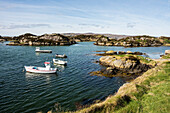 Granite coast near Dungloe, County Donegal, Ulster, Republic of Ireland, Europe