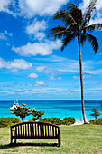 The resorts gardens offer a beautiful view over Anchor Bay