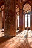 St. Georgen from inside, Wismar, Ostseekueste, Mecklenburg-Vorpommern Germany