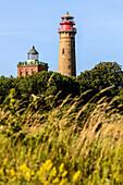 Lighthouses of Kap Arkona, Ruegen, Ostseekueste, Mecklenburg-Vorpommern, Germany