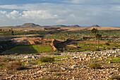 Landscape near La Olivia, Fuerteventura, Canary Islands, Islas Canarias, Atlantic Ocean, Spain, Europe
