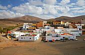 View fishermen's village Ajuy, Fuerteventura, Canary Islands, Islas Canarias, Atlantic Ocean, Spain, Europe