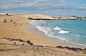 El Jable, Parque Natural de las Dunas de Corralejo, Fuerteventura, Playa del Moro, Canary Islands, Islas Canarias, Atlantic Ocean, Spain, Europe