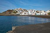 View at  Las Playitas, Fuerteventura, Canary Islands, Islas Canarias, Atlantic Ocean, Spain, Europe