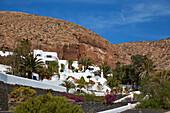 View at the Lagomar at Nazaret (Teguise), Atlantic Ocean, Lanzarote, Canary Islands, Islas Canarias, Spain, Europe