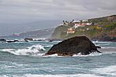 View at Las Aguas, San Juan de la Rambla, Tenerife, Canary Islands, Islas Canarias, Atlantic Ocean, Spain, Europe