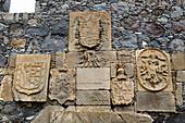 Detail at the at Castle of San Miguel at Garachico, Tenerife, Canary Islands, Islas Canarias, Atlantic Ocean, Spain, Europe